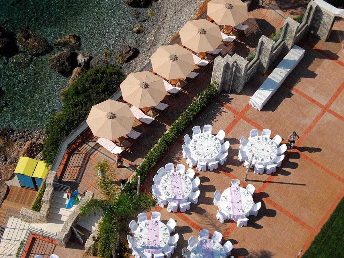 Εστιατόρια/Καφέ - Akti Taygetos - Conference Resort